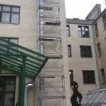 Überdachleitung Schule Mollardgasse